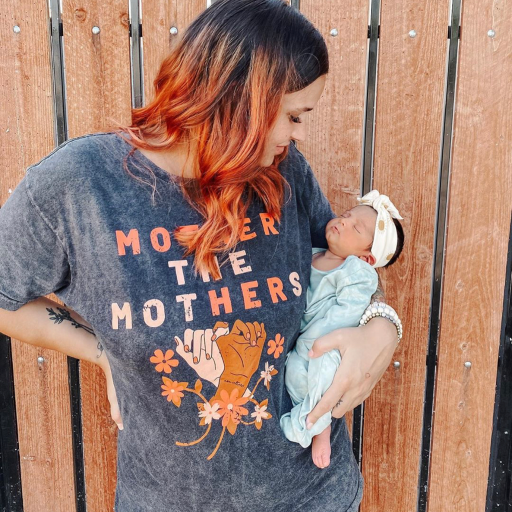 """Mother the mothers©"" #MotherHer Vintage Tee"
