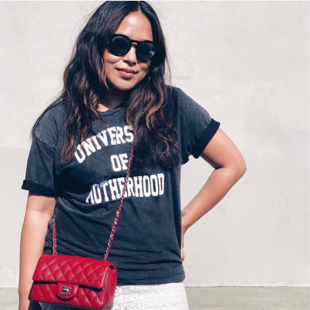 """University of Motherhood©"" Vintage Tee"