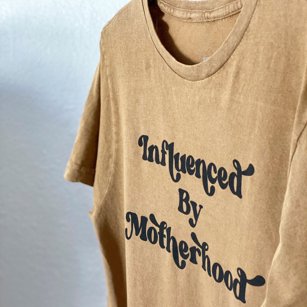 """Influenced by Motherhood©"" Vintage Tee"