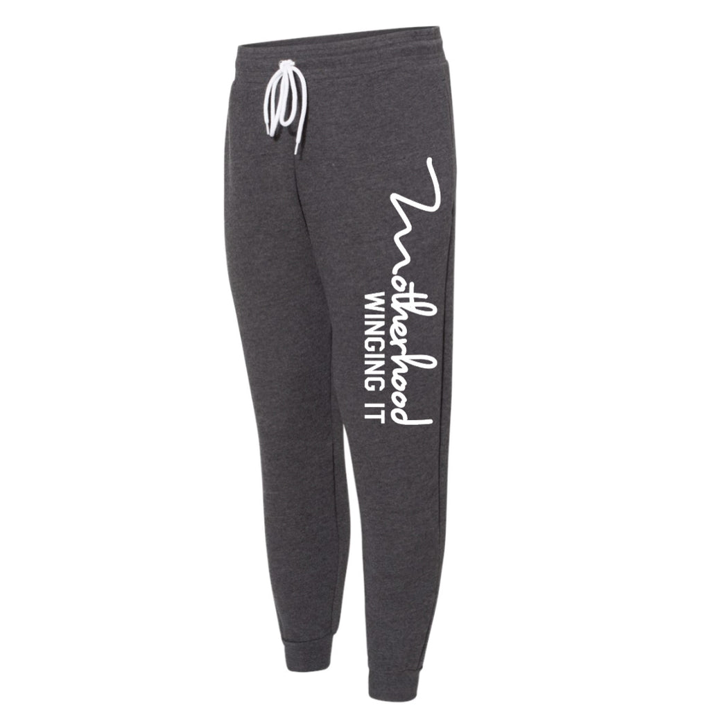 """Motherhood Winging It®"" Unisex Jogger - Mom Culture"