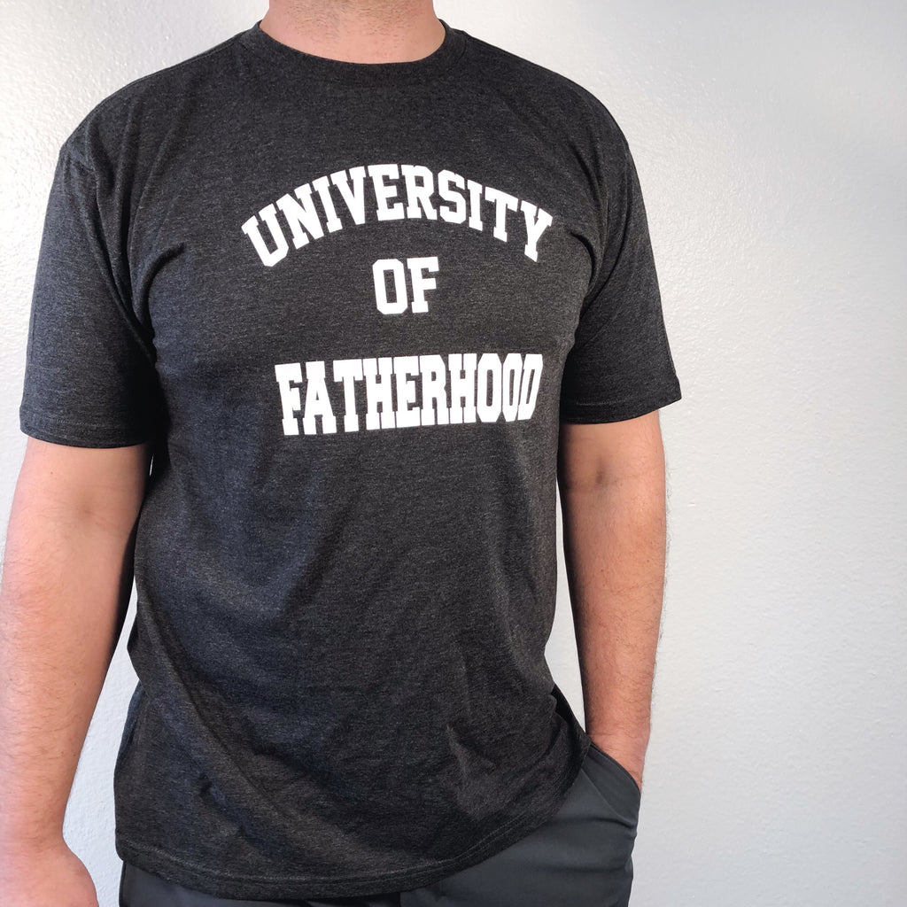 """University of Fatherhood©"" Tee"