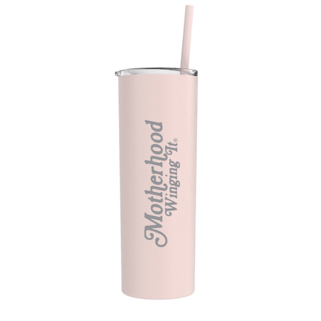 """Motherhood Winging it®"" Stainless Steel Tumbler 