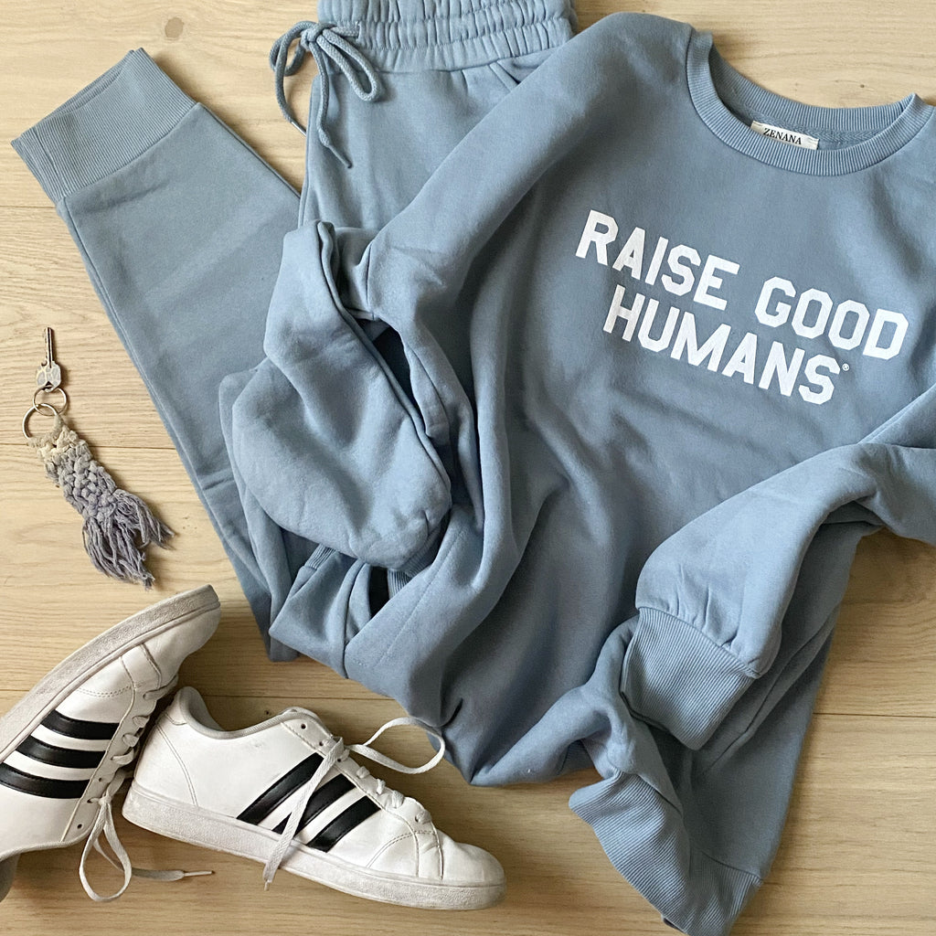 """RAISE GOOD HUMANS®"" Sweatsuit"