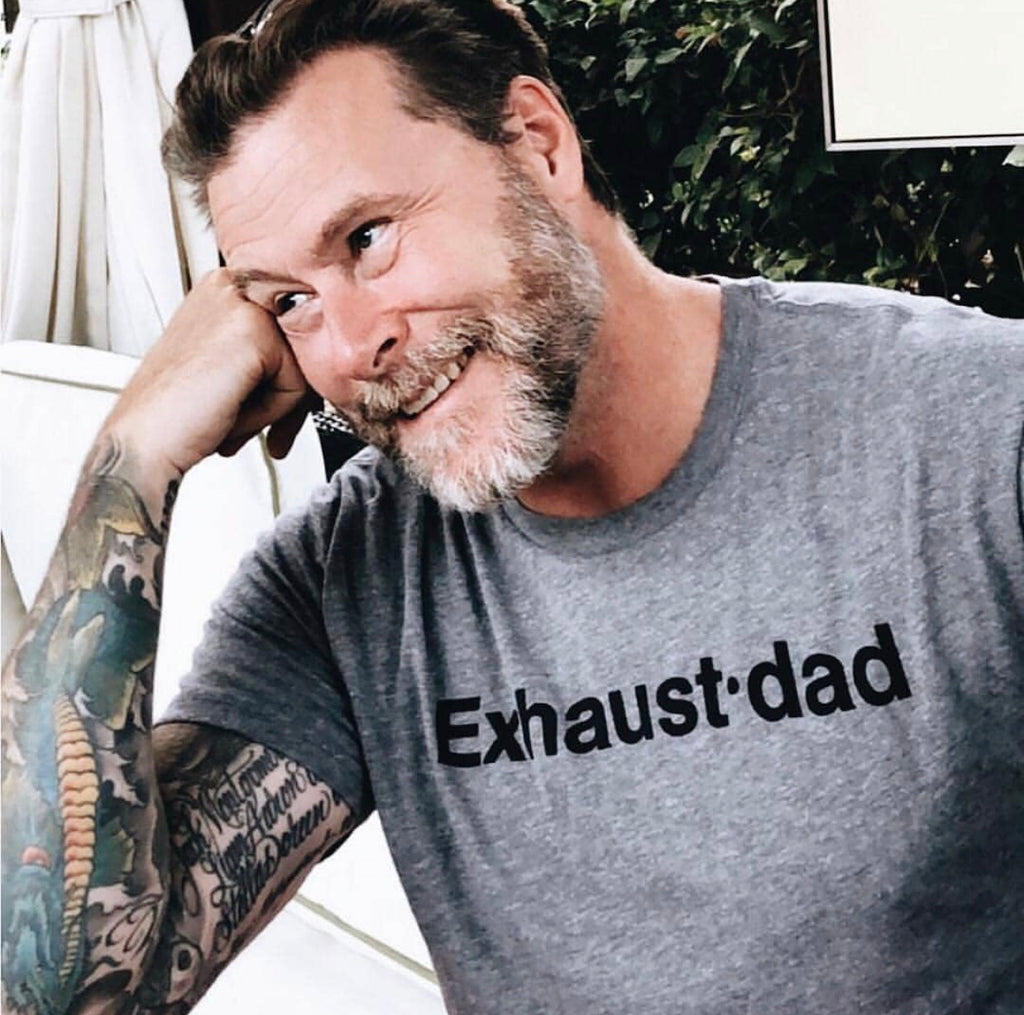 """Exhaust•dad©"" Tee 