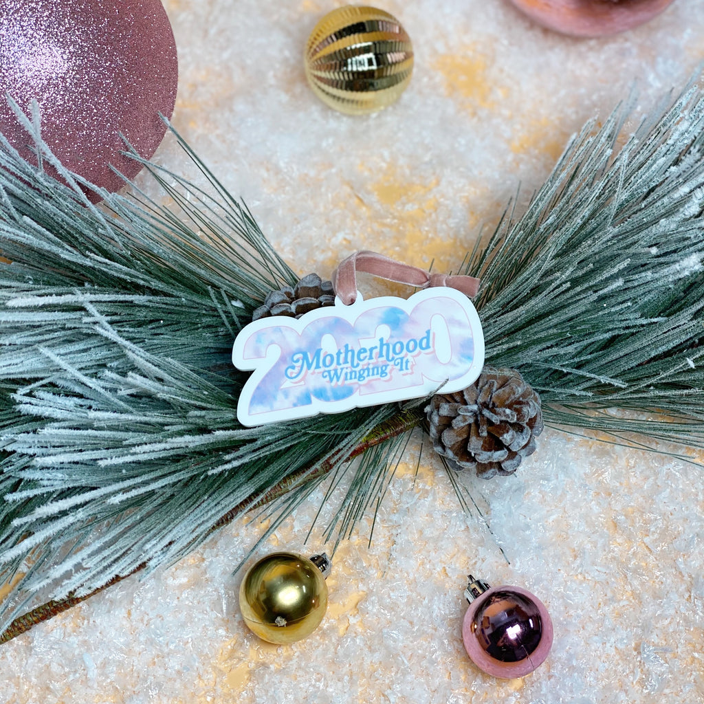"""Motherhood Winging It®"" 2020 Ornament"