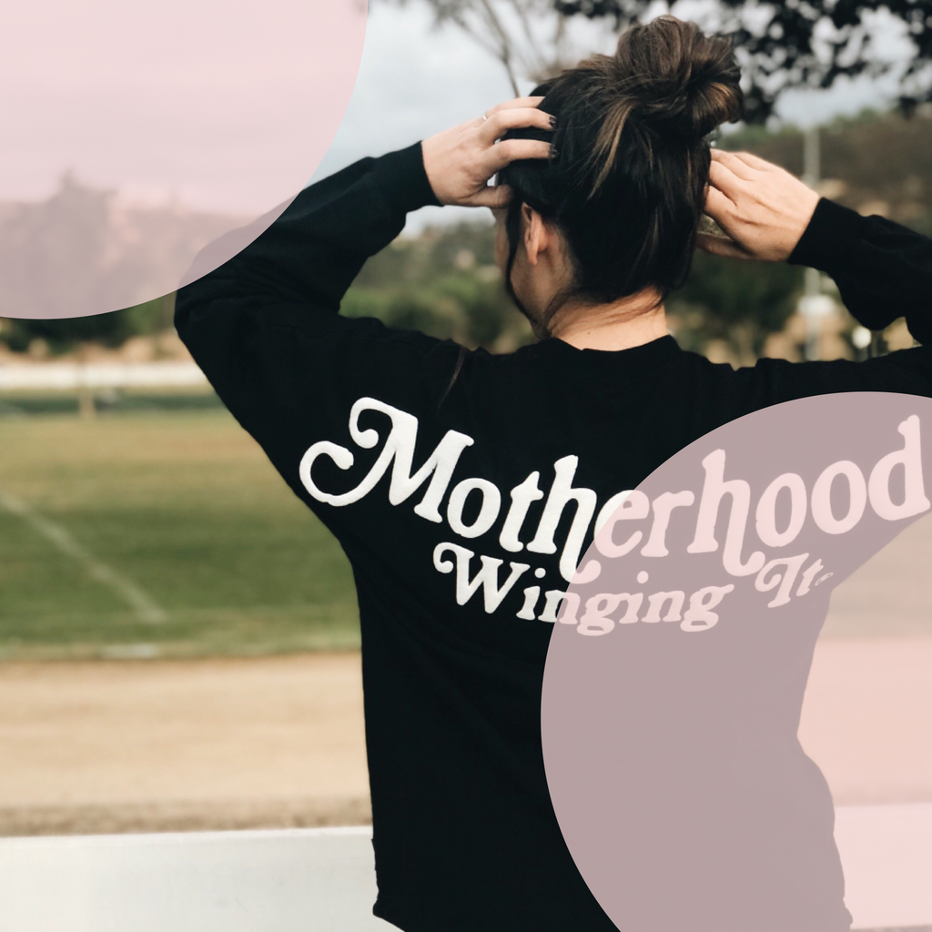 """Motherhood Winging It®"" Spirit Jersey®"