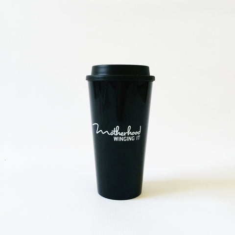 """Motherhood Winging it®"" Travel Mug"
