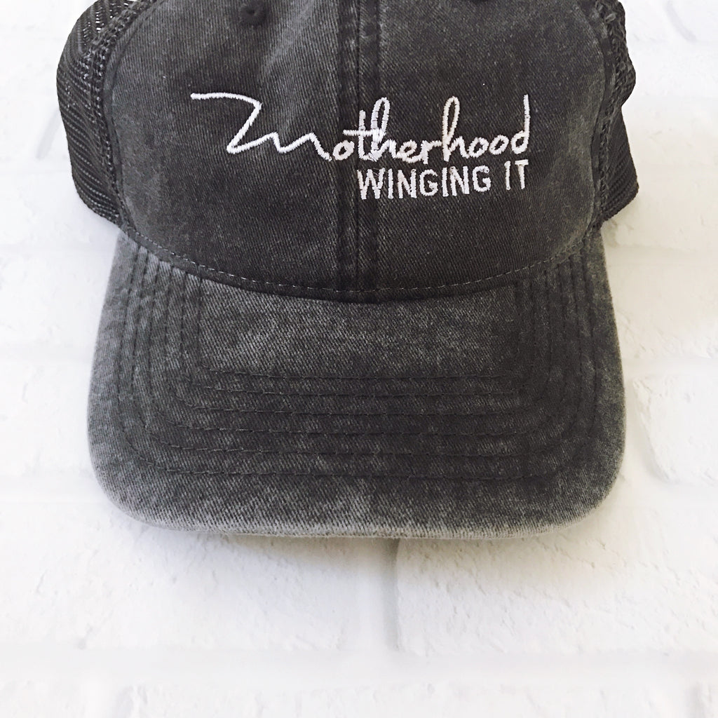 """Motherhood Winging It®"" Vintage Cap 