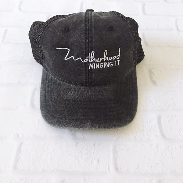 """Motherhood Winging It®"" Vintage Cap"
