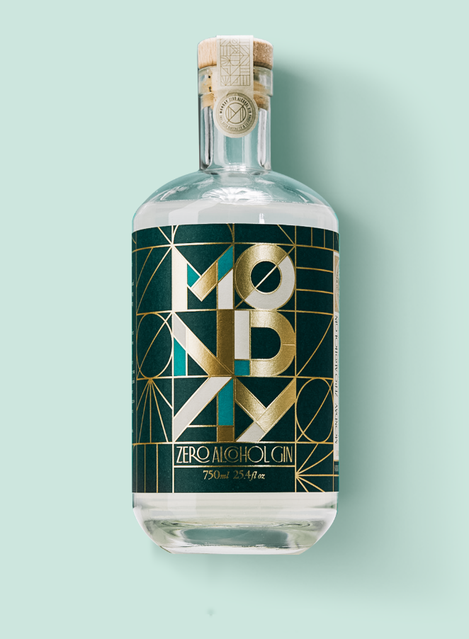 MONDAY Zero Alcohol Gin - 750ml