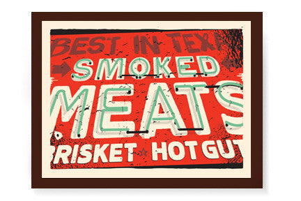 Best In Texas - BBQ Print