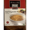 ProtiDiet Soup - Beef Vegetable - 7/Box