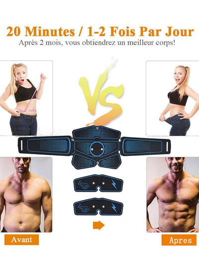 Electric Press Stimulator Slimming Fitness ABS