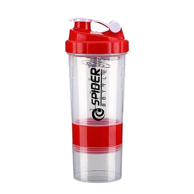 Powder Mixing Bottle Fitness Gym Shaker
