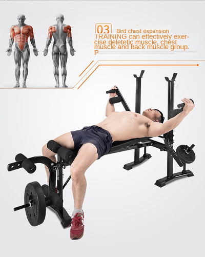 Multi-functional Weight Bench Stand