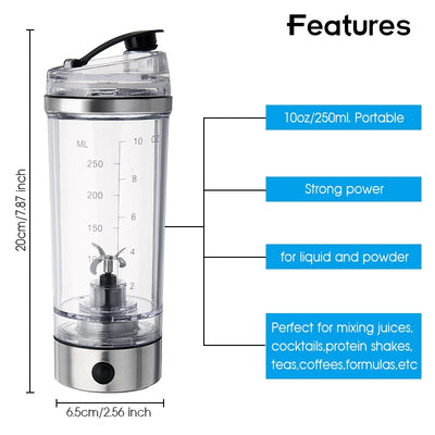 USB Electric Protein Shaker Cup
