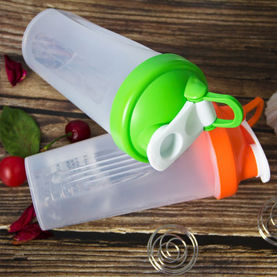 Portable Shaker Bottle with Stirring Ball