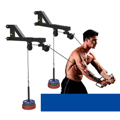 Pulley System Rowing Fitness Cable Machine