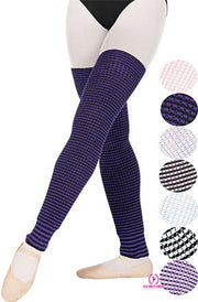 Eurotard: Warm Ups, Multi Color Leg Warmers (#72521/72522)