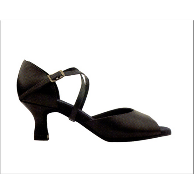 Body Wrappers: Women's Ballroom Shoe, Kay (#104A/104GY) - SALE