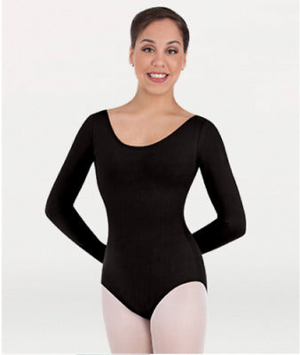 Body Wrappers: Children's Long Sleeve Leotard (#BWC126)