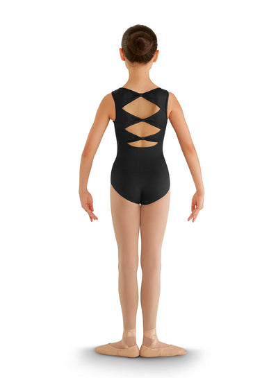 Bloch: Children's Leotard, Three-Bow Back (#CL8835)