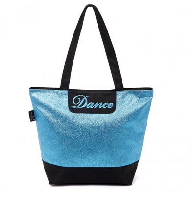 Dasha: Glitter Dance Tote Bag