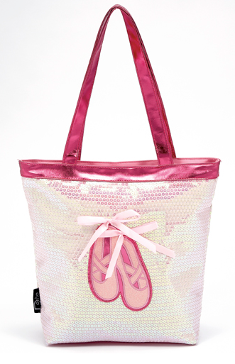 Dasha: Sequin Ballet Shoes Tote