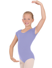 Eurotard: Children's Leotard, Bow Back Short-Sleeved (#44286)