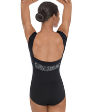 Eurotard: Hint of Whimsy Boatneck Tank Leotard