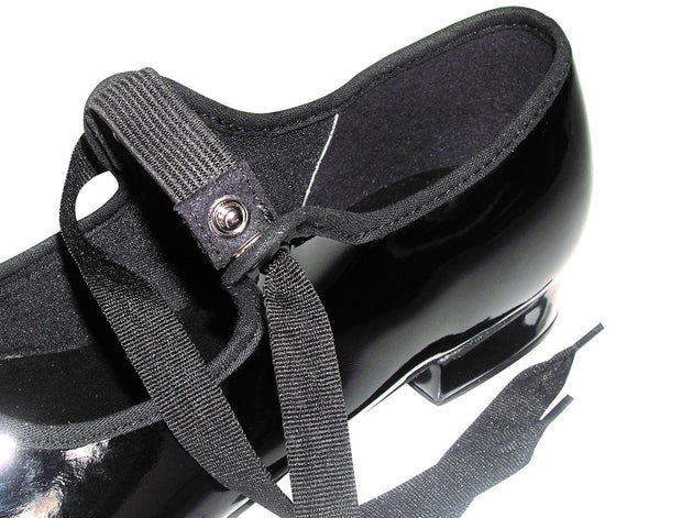 So Danca: Tap Shoe, Child's Classic Tie (#TA35) Black