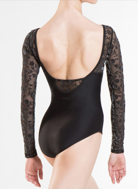 Wear Moi: Long Sleeve Mesh Leotard, the Sibelle