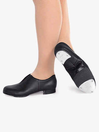 Bloch: Tap Shoe, Slip On, Tap Flex (#S0389L) Black