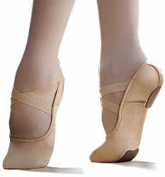 Capezio: Ballet Shoe, Split-Sole, Canvas, Hanami (#2037W) Nude