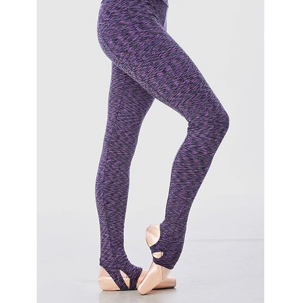 Gaynor Minden: Warm Ups, Double Stirrup Leggings, Pixel Purple