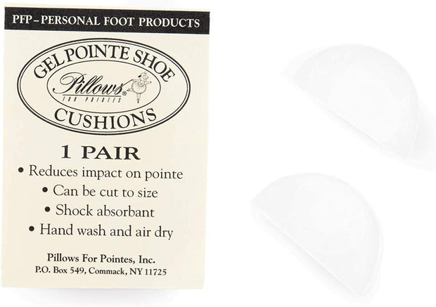 Pillows for Pointes: Supply, Gellowettes Toe Box Cushion (#PFP2)