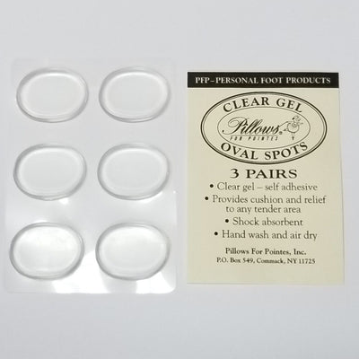 Pillows for Pointes: Supply, Gel Oval Spots (#PFP12)