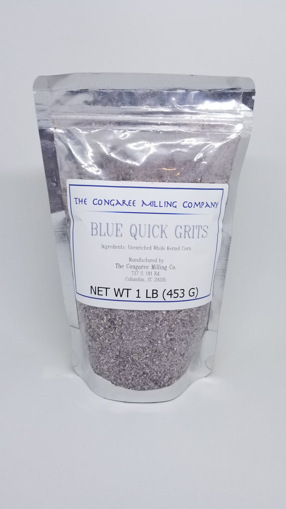 Organic Blue Quick Grits 1 Pound Bag