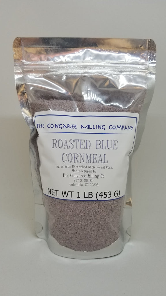 Roasted Blue Corn Meal