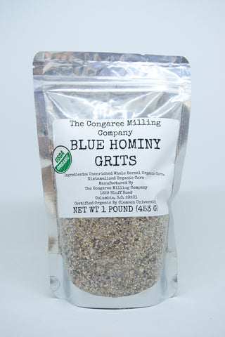 Coarse Blue Hominy Grits