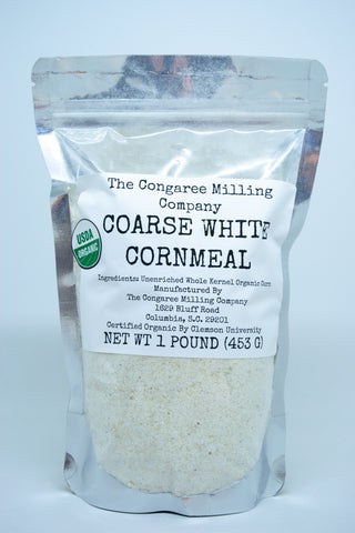 Coarse White Corn Meal