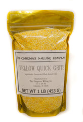Organic Yellow Quick Grits 1 Pound Bag