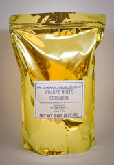 Coarse White Cornmeal 5 Pound Bag