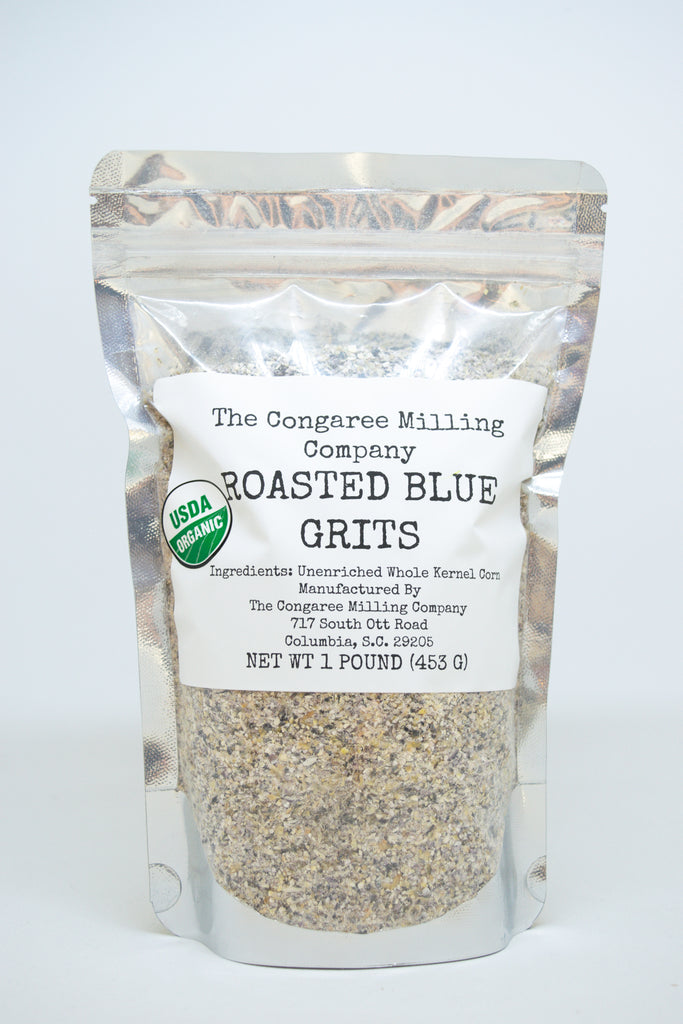 Roasted Blue Grits
