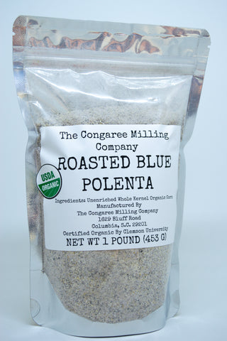 Roasted Blue Polenta