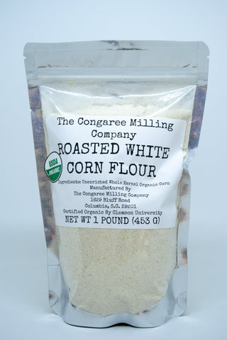 Roasted White Corn Flour