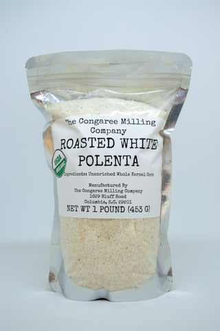 Roasted White Polenta