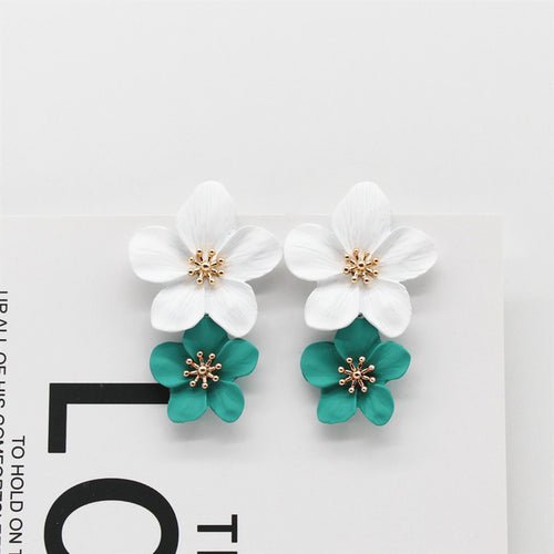 Big Flowers Earring