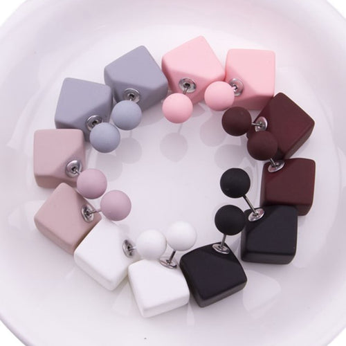 6 Pairs Mix Color Studs