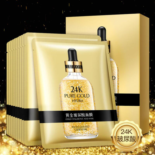 24K Gold Hyaluronic Acid Facial Mask